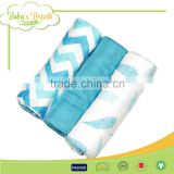 MS-01 custom print 100% organic bamboo muslin swaddle baby blanket, muslin blanket baby                                                                         Quality Choice