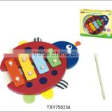 Beetle Wooden Harp/Xylophone Musical Instrument Knock Piano Kids Toys