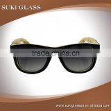Promotion stock classics sunglasses bamboo eyeglass wholesale bamboo polarized sunglasses