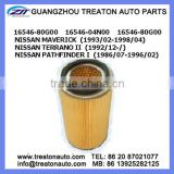 AIR FILTER 16546-80G00 16546-04N00 FOR NISSAN MAVERICK 93-98 TERRANO II 92- PATHFINDER I 86-96