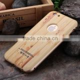 Wholesale hot selling 3D wood pattern phone cover for iphone 6s ,back cover For apple iphone 6s