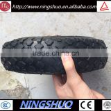 China factory of farm machine wheel small pneumatic rubber wheel 3.50-4