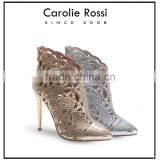 CR190 gold and silver high heel girl party sex sandal pic woman dresses shoes sandals