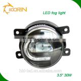 3.5 inch 30w white color fog light 9005 9006 h11 led fog lamp fog bulbs for N issan series