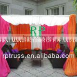 2014 RP portable pipe and drape stands,heavy duty curtain tracks