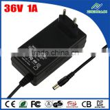 ZF120A-3601000 AC To DC Power Supply 36V 1A Adapter For Hair Clipper