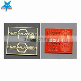 2016 new design brass name plates furniture, custom logo furniture, nameplate brass furniture