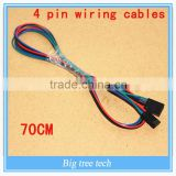 for 3D Printer Accessories 70cm Length 4pin Female To Female Jumper Wire Dupont Cable