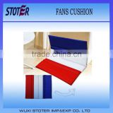 France flag sport stadium seat cushion with logo