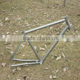 Titanium bicycle frame/titanium road frame/road frame with both di2 and mechanical shifting system