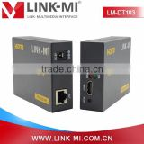 LINK-MI LM-DT103 Transmits HDMI extender video and audio signals up to 120m over a single CAT5e/6 cable