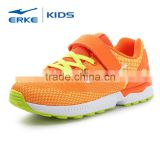 ERKE wholesale hot style lace up mesh falt sole unisex boys running sports sneaker (big kid)