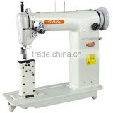 JY820 post bed lockstitch direct- drive industrial sewing machine motor price double needle
