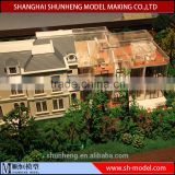 maquette house scale model making for real estate exhibition,miniature architectural model maker