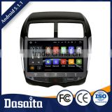 Auto radio black colored car dvd gps navigation diy wallpaper 4 channel sub woofer audio for mitsubishi