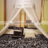 100% Polyester Material and Adults Age Group hanging mosquito net to fit a queen sized bed