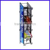 Snack Rack for Planters nuts and Oreo Cookies display stand