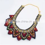 Beads Vintage Choker Collar Pendant Statement Necklace Women Necklaces & Pendants Fashion Necklaces for Women 2014
