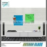 toughened glass magnetic writing board, magnetic glass drawing board, 35x45cm in home, office used