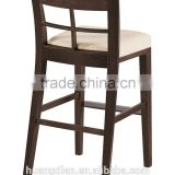Chinese furniture supplier sale solid wood furniture for restaurant and bar used high bar stool chair