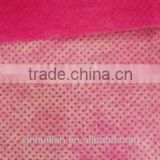 widely accepted spunbonded non woven with various color of each side,China pp spunbond nonwoven fabric exporters