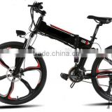 "Popular 48V 350W Foldable ebike Powerful electric Bicycles with UL battery 26"" green city electric bike"
