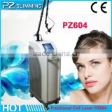 40w 2014 PZ LASER Doctor Medical Use Fractional 590-1200nm Co2 Medical Laser Equipment Birth Mark Removal Face Lifting