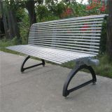 Metal street furniture cast iron outdoor park bench/patio bench