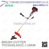43CC 1.25KW single cylinder brush cutter (TFCG430)