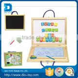 best selling items drawing board wooden toy craft for wholesales with number & letter