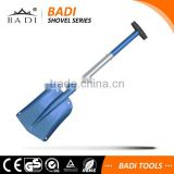 2016 new design light weight portable china car auto atv telescopic collapsible aluminum snow shovel