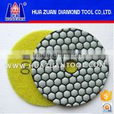 Hot Sale Premium Grade 4 inch Dry Polishing Pad for GRANITE MARBLE STONE