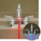 3 Color LED Water Glow Faucet Light Water Faucet