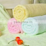 Customize logo thin soft bamboo fabric bath towel