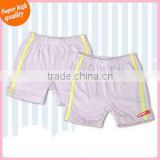Superior quality elastic waistband cool summer cotton soft Baby short pants / knickers