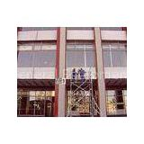 Light Weight Mobile Aluminium Scaffold Tower , Ring lock joints