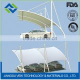 Teflon curtain shade umbrellas ptfe architectural membrane