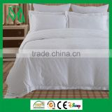Bed linen bed cover sheet set bed pillows 100% cotton for hotel