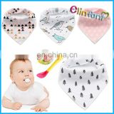 4Pcs Cartoon Newborn Baby Burp Bandana Bibs Cotton Soft Toddler Triangle Scarf Bib Cool Accessories Infant Saliva Towel