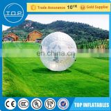 Trade Assurance bubble football inflatable ball for wholesales