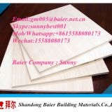 high quality 9mm pine veneer plywood / best price commercial plywood