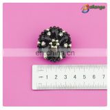 High quality pretty beaded plastic buttons for clothing