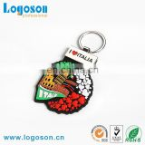 2017 New Souvenir PVC Rubber Key Chain