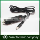 12V Car Charger With Spiral Cable To Cigarette Lighter Socket with DC plug