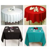 Wholesale 100% Polyester Tablecloths/Table Cover For Event&Party
