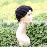 alibaba express really human hair human hair short bob lace front wig