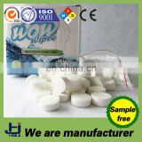 China manufacture 100% cotton disposable nonwoven cheap compressed facial tissue