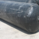 inflatable culvert rubber balloon used for concrete pipe, rubber balloon for making concrete gutter