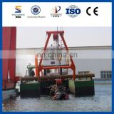 Heavy Duty Trailing Suction Hopper Dredger for Sale for Lake Desilting