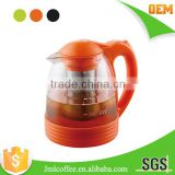 tea maker , Tea brewer ,glass tea maker,auto-open lid with different color to choose